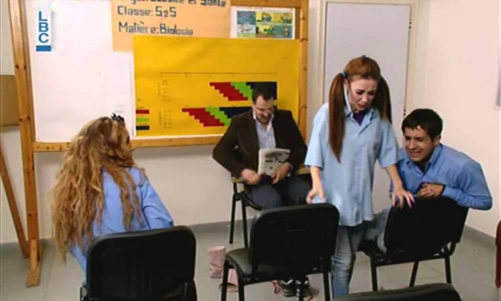 Ktir Salbeh Show - Episode 31 - تعليم بالمسطرة