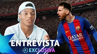"DAVID NERES : ""MESSI É MEU ÍDOLO\"" - ENTREVISTA EXCLUSIVA"