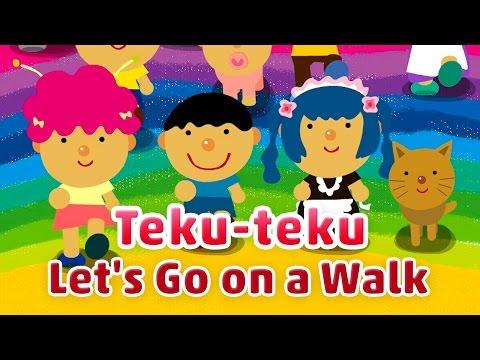 Teku-teku, Let's Go on a Walk | TOKIOHEIDI
