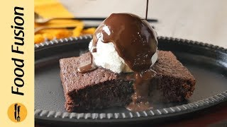 Sizzling Chocolate Brownie Recipe By Food Fusion