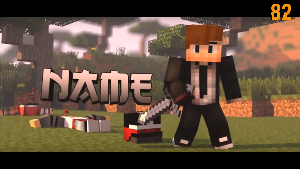 TOP 8 Minecraft Intro Template + Free Downloads!! - YouTube