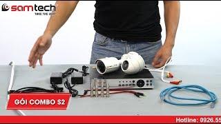 Combo S2 giá rẻ lắp đặt camera giám sát trọn gói cho gia đình ở Hà Nội