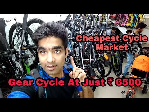 Finding CHEAP MTB around ₹ 10,000 | Jhandewalan Cycle Market | Roadeo , Hero Sprint , Suncross kross
