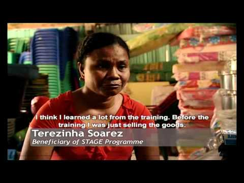 Timor-Leste: Getting People to Work and Work to People