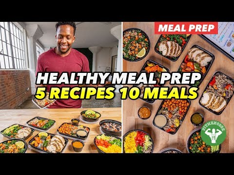 Meal Prep – 5 Recipes And 10 Best Meals For Variety