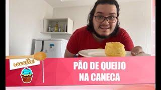Faça um inovador pão de queijo na caneca com digital influencer Vincy - 11/08/20