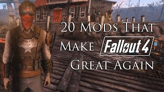 20+ Mods That Make Fallout 4 Great Again