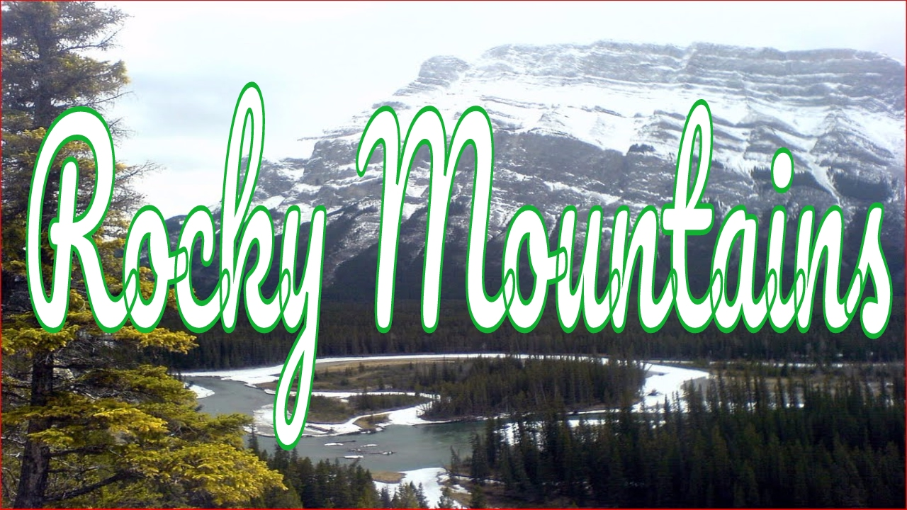 Visiting Rocky Mountains Mountain Range In North America United - How many mountain ranges are in the united states