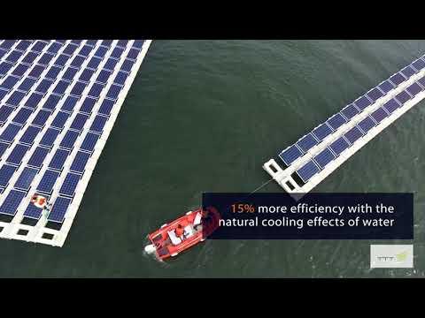 Turkey's First Floating Solar System by YGA graduates