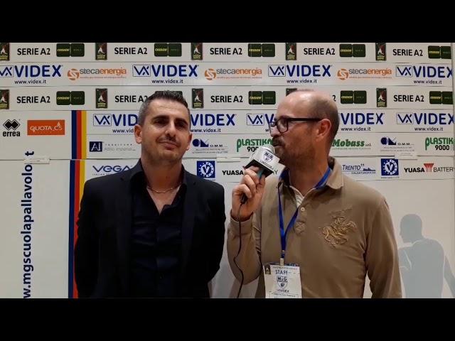 L'intervista a coach Ortenzi nel post-partita contro Prata Volley