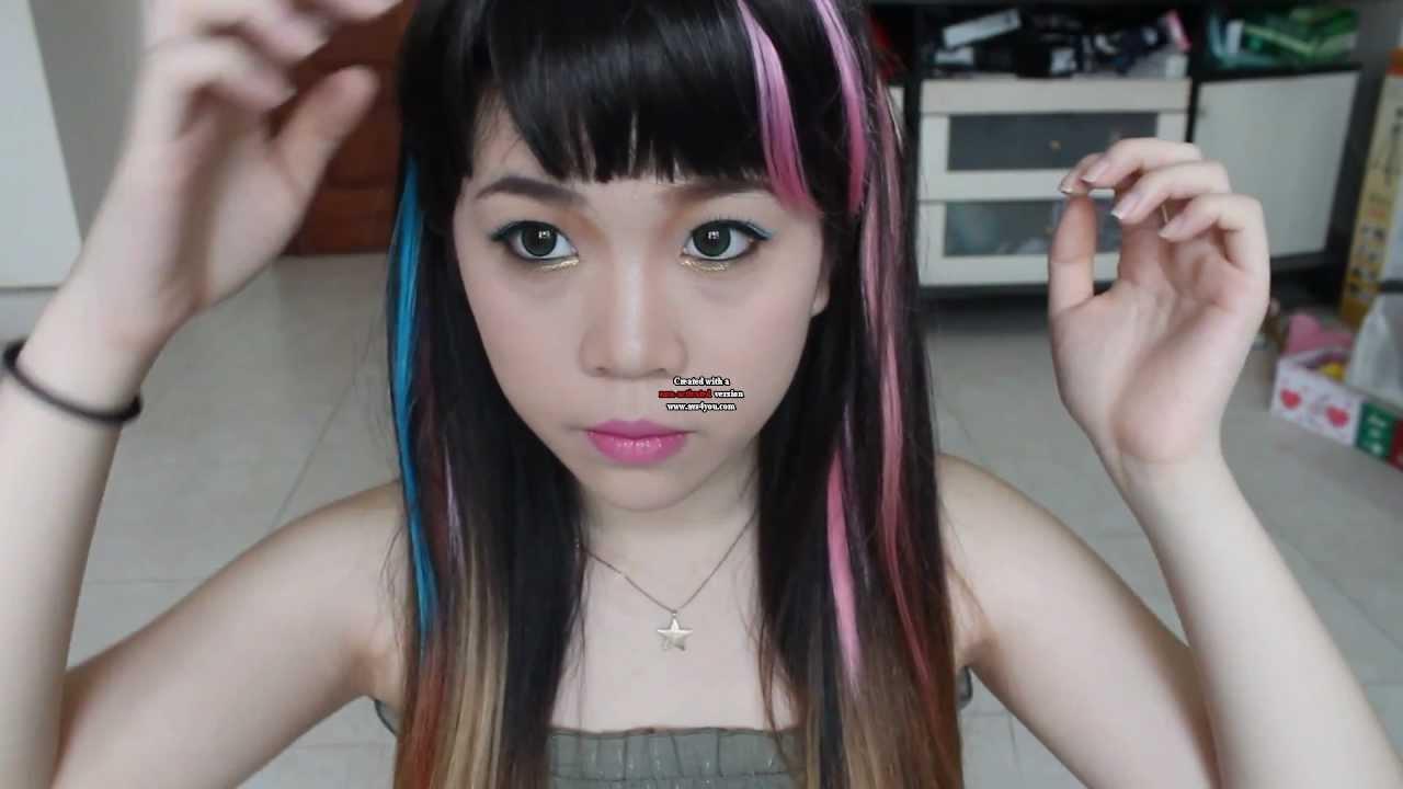 F(x) Electric Shock ( 에프엑스 ) Sulli's Inspired Makeup ... F(x) Sulli Electric Shock