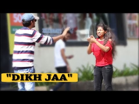 """DIKH JAA"" Magic Prank On Girls (Prank in india) | Pranks in india"