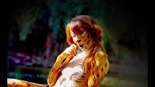 Repeat youtube video Body Painting Leopard by Simone Canal & Rie Moon