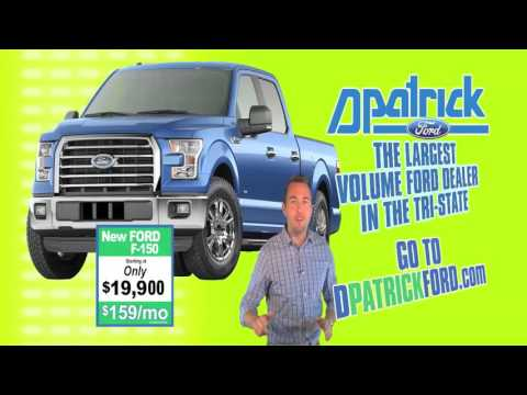 D-Patrick Ford - 300 Clearance F-150s - Ford Truck Deals