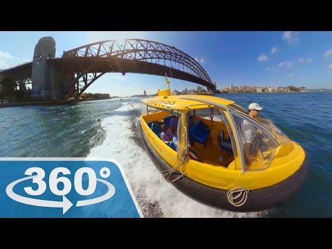 Sydney Harbour - Yellow Water Taxi (360 Video)