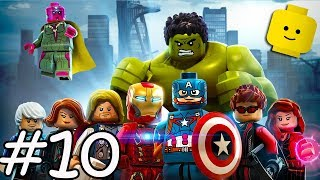 LEGO Marvel Avengers Cartoon Game Videos for Kids - Superheroes Video Games for Children #10