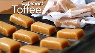 Chewy Caramel Toffee Recipe  Make Caramel Toffee at Home