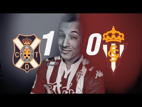 "Tenerife 1-0 Sporting de Gijón   ""ADIOS ASCENSO DIRECTO""  J.40   Liga 123   18.5.2018"
