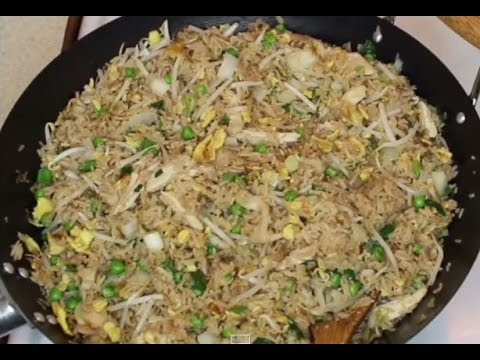 Com Chien Ga Lap Xuong – Chicken Fried Rice