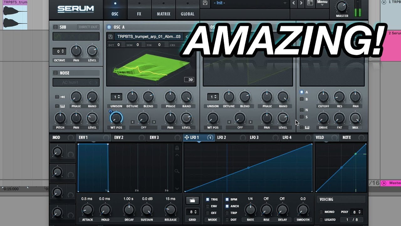 How to Turn a Real Instrument into a Serum Wavetable