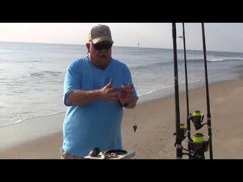 Surf Fishing With Sand Fleas