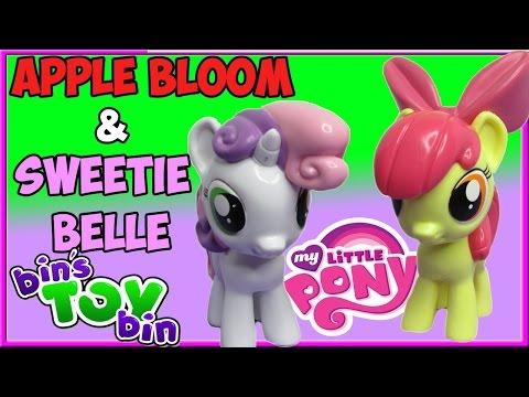 My Little Pony Apple Bloom & Sweetie Belle Funko Vinyl Figures! Review By Bin's Toy Bin