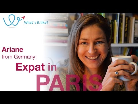 Living in Paris - Expat Interview with Ariane (Germany) about her life in Paris, France (part 01)