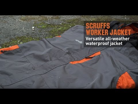 Scruffs Trade Tech Softshell Jacket Charcoal Black L