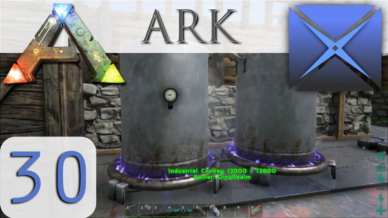 Industrial Cooker S02 E30 Ark Survival Evolved Gameplay