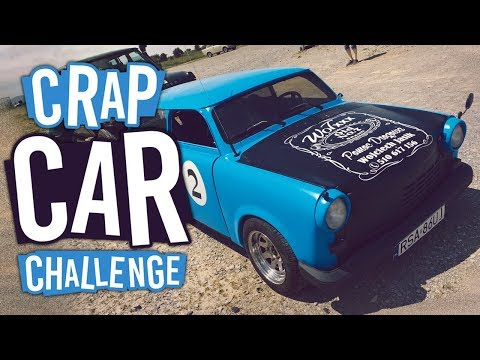 OUR NEW CAR ALMOST KILLED US! | The Crap Car Challenge #1