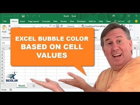 how to change chart column color in excel