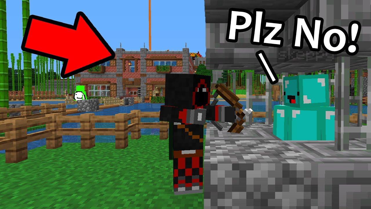 So I TROLLED Skeppy On The Dream SMP...