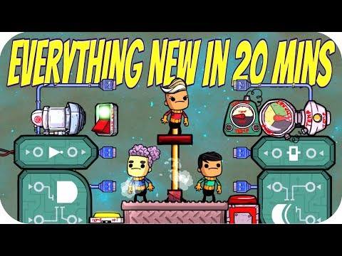 Oxygen Not Included AUTOMATION UPGRADE: EVERYTHING NEW in 20 Minutes: LOGIC GATES/METAL REFINERY ONI