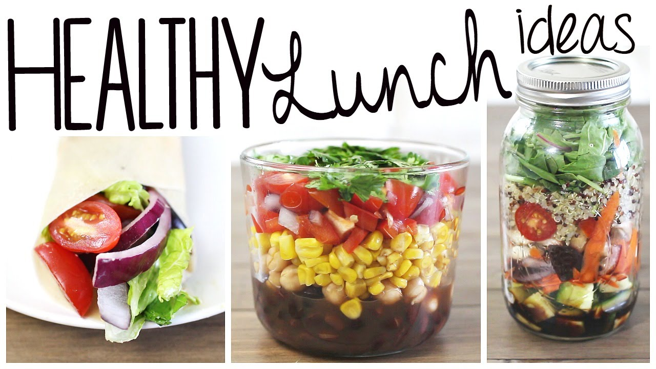 3 Healthy Easy Lunch Recipes Vegan Gluten Free YouTube