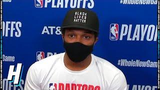Kyle Lowry Postgame Interview - Game 5   Celtics vs Raptors   September 7, 2020 NBA Playoffs