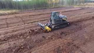 Farm land clearing MeriCrusher MJH-241 DTX + Suocco S500