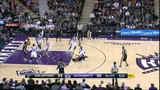Assist of the Game: Duncan Finds a Way
