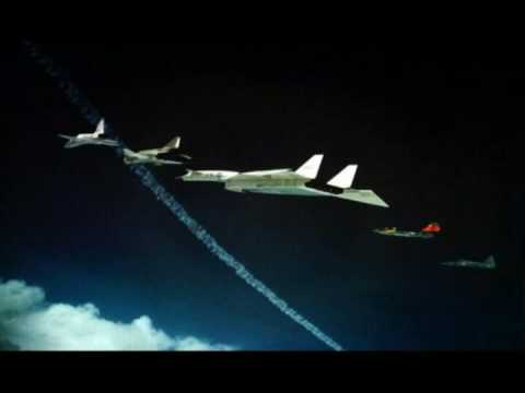 XB-70 Crash Sequence( The Only ONE!!!!!!!!!!!!!!!!)