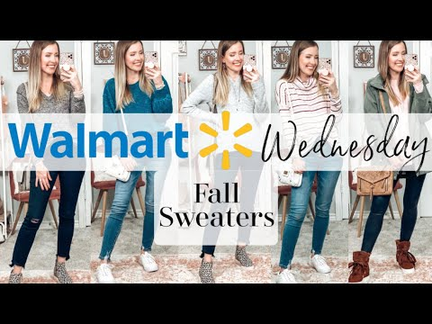 WALMART WEDNESDAY: FALL/WINTER SWEATERS!!