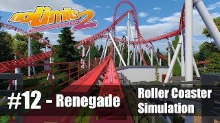#12 Renegade by JakeC - Review 4.2/5 - NoLimits 2 - Roller Coaster POV - PC Gameplay 60fps