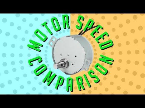 EPOXY CUP TURNER / ROD TURNER MOTOR 2.5-3RPM ~VS~ 5-6RPM SPEED TEST