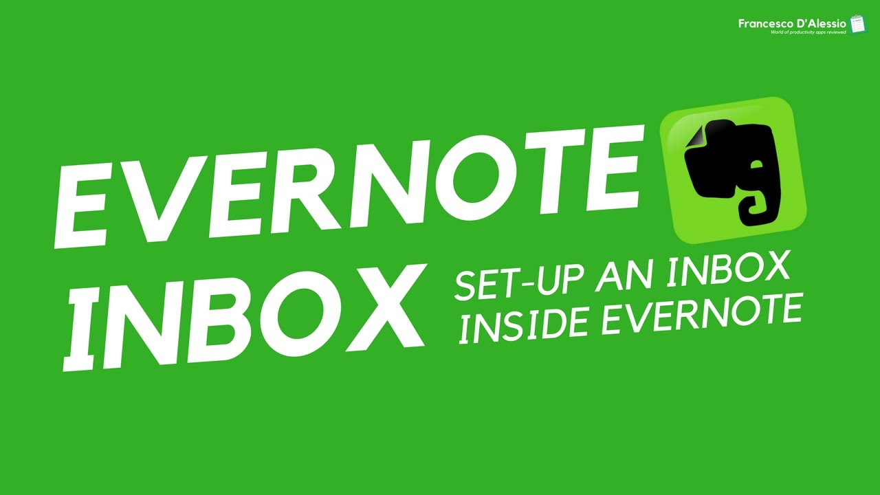 how to set up evernote for gtd