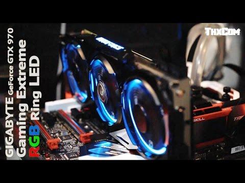 ทดสอบ การ์ดจอ GIGABYTE GTX 970 Gaming Extreme [RGB Ring LED] รีวิว by ThxCom [ GTAV , Batman ]