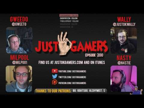 Episode 200 - Four years of the Just OK Gamers Podcast!