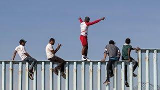 La llegada de los primeros migrantes de la caravana a Estados Unidos