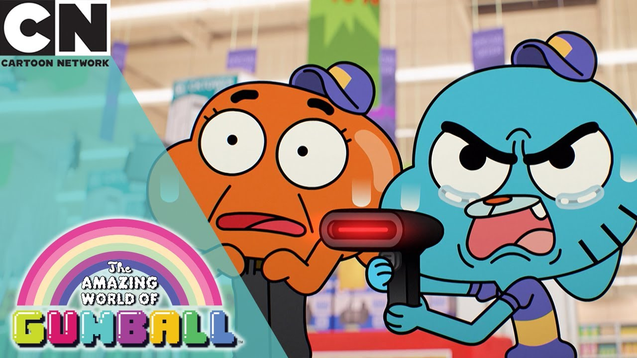 The Amazing World Of Gumball Gumball And Darwin Get Jobs Cartoon Network Uk Youtube