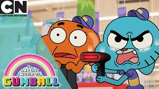 The Amazing World of Gumball | Gumball and Darwin Get Jobs | Cartoon Network UK