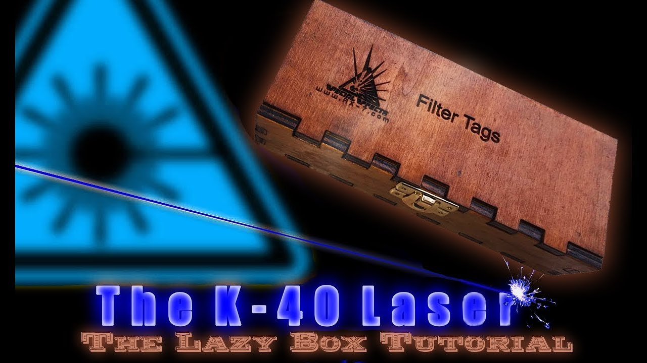 K40 Laser how to build a Box or Chest Tutorial (NO Skills