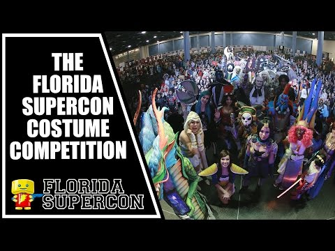 Florida Supercon Costume Competition at Florida Supercon 2015