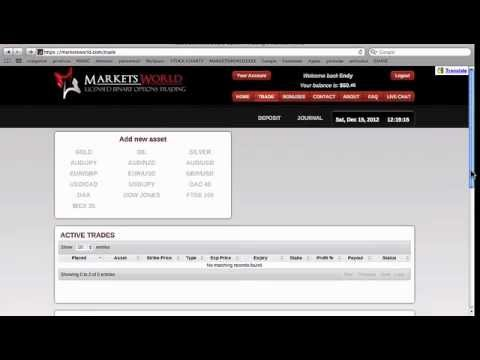marketsworld binary options